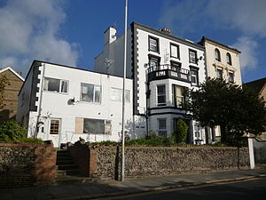 Historic buildings in Ramsgate - Mount Albion House - 22 Victoria Road, Ramsgate.