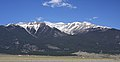 Mount Columbia from along US-24, a few miles N NW of Buena Vista.jpg