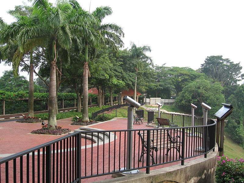 View of Mount Faber Park