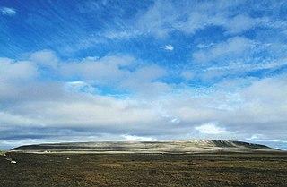 Uvayuq mountain in Canada
