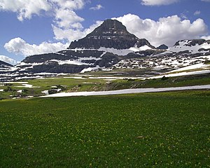 Logan Pass - Image: Mount Reynolds at Logan Pass