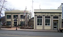photo of the police department and city hall in Mount Shasta, California