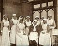 Mount Stuart Royal Naval Hospital, deputy matron & staff WW1 Wellcome V0030789EBL.jpg