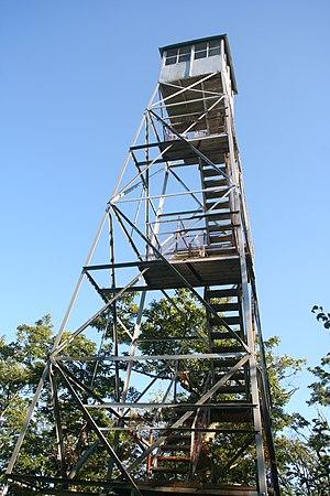 Mount Tremper Fire Observation Station - The Fire Observation Station