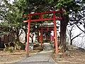 Mount Ushibuse Kotohira-jinja torii.jpg