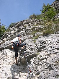 Mountain climbing with rope.jpg