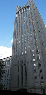 Daniel Patrick Moynihan United States Courthouse federal courthouse in Manhattan, New York