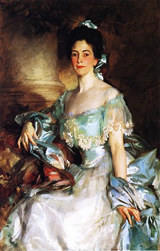 Abbott Lawrence Rotch - Mrs. Abbott Lawrence Rotch, John Singer Sargent, 1903