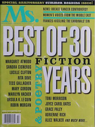 Women's fiction - Women's fiction edition of Ms. magazine in 2002