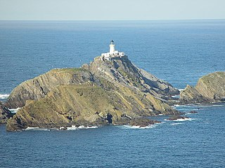Muckle Flugga Lighthouse lighthouse in Scotland