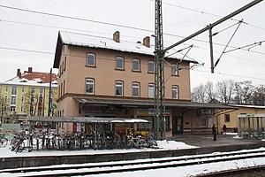 Munich Moosach station - Moosach S-Bahn station