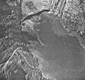 Muir Glacier, tidewater glacier terminus and icebergs, August 26, 1968 (GLACIERS 5711).jpg