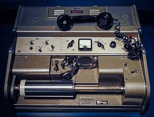 Muirhead fax machine - MfK Bern