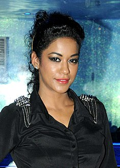 Mumaith Khan at the first look launch of Fattu Saala, 2013
