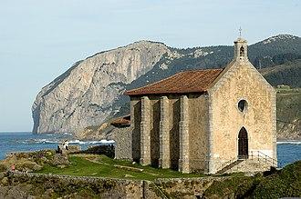 Mundaka - Chapel of Santa Catalina.