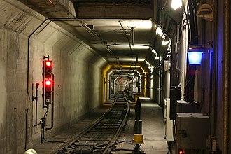 Muni Metro - Underground tunnel infrastructure