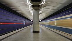 Munich subway station Am Hart.JPG