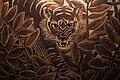 Musée du quai Branly Peintures des lointains Jean Dunand Tigre à l'affût Détail 1930 03012019 6284.jpg