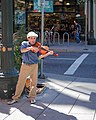 Musician in the Pearl District (Portland, Oregon).jpg