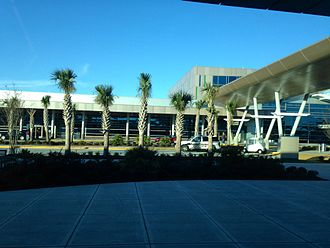 Myrtle Beach International Airport - Terminal at Myrtle Beach International Airport