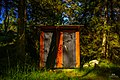 Mythical swedish outhouse in the forest, Fjärdlång, Stockholm (Sweden) - panoramio.jpg