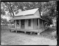 NORTHWEST CORNER - Charity House, State Route 32 and County Route 1 vicinity, Memphis, Pickens County, AL HABS ALA,54-MEM,2-2.tif