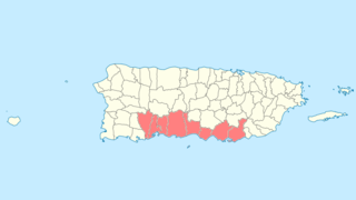 National Register of Historic Places listings in southern Puerto Rico Wikimedia list article