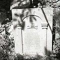 """Nagrobni kamen, """"spomenik"""" na pokopališču na Slapu 1958 (2).jpg"""