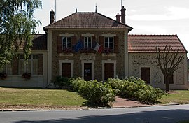 The town hall in Nainville-les-Roches