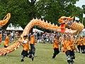 Nam Yang Pugilistic Association perform a Dragon Dance for HRH The Queen's Jubilee.jpg
