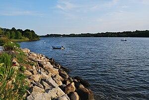 Tiverton, Rhode Island - Nannaquaket Pond, Tiverton, RI