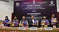 Narendra Singh Tomar releasing the publications, at inauguration of the GeoMGNREGA, which was launched in 110 Districts in the country, in New Delhi.jpg