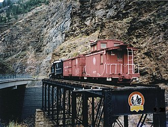 Curecanti National Recreation Area - Denver and Rio Grande Western Railroad Narrow Gauge Trestle