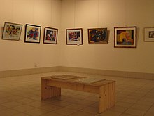 National Art Gallery display in Dhaka.jpg