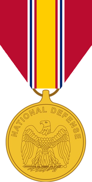 National Defense Service Medal cover