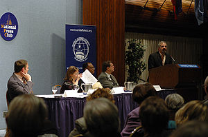National Press Club (United States) - A meeting at the National Press Club