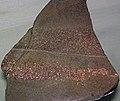 Native copper in sandstone (Nonesuch Formation, Mesoproterozoic; White Pine, UP of Michigan, USA) 2.jpg