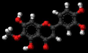 Nepetin - Image: Nepetin molecule ball