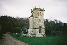 Nether Cerne, parish church of All Saints.jpg