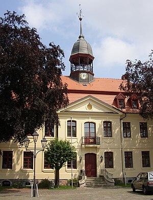 Neustadt-Glewe - Image: Neustadt Glewe town hall