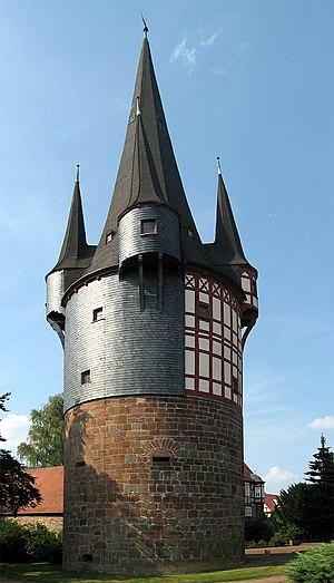 Neustadt, Hesse - Junker-Hansen-Turm, Neustadt´s landmark