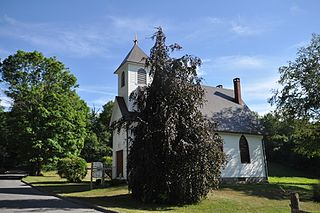 Merryall Union Evangelical Society Chapel United States historic place