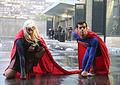 New York Comic Con 2015 - Supergirl & Superman (21443758223).jpg