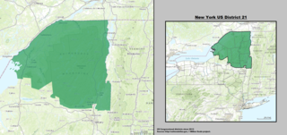 New Yorks 21st congressional district U.S. House District in Northeast New York State