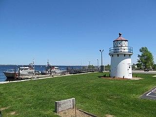 Newburyport Harbor Front Range Light United States historic place