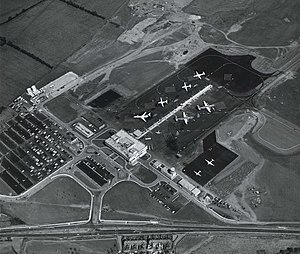 Newcastle Airport - Newcastle Airport in 1972