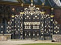 Newport, splendid gates at Tredegar House - geograph.org.uk - 1182837.jpg