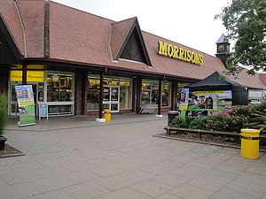 The Morrisons supermarket in Newport, Isle of ...
