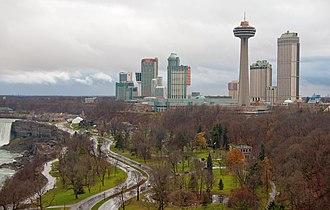 Niagara Falls, Ontario - Skyline of Niagara Falls, Ontario