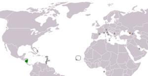 Abkhazia–Nicaragua relations - Image: Nicaragua Abkhazia Locator